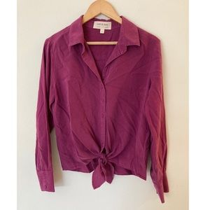 Cloth & Stone knot front top Small